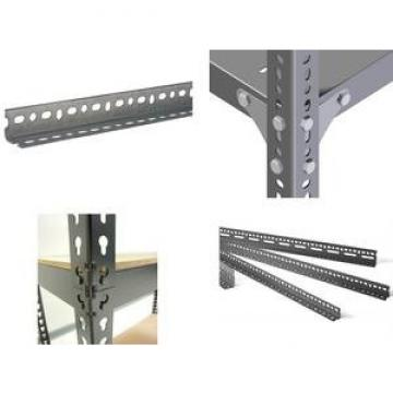 Free Sample Preforated Steel Slotted Angle Bar Shelving