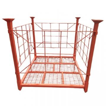 Heavy Duty Commercial Galvanized Portable Storage Metal Pallet Stacking Rack