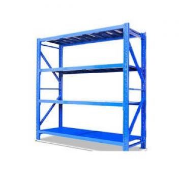 Long Span Steel Storage Systems Warehouse Shelving with Steel Deck