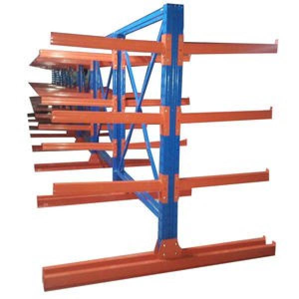 Heavy Duty Multi Tier Steel Industrial Cantilever Warehouse Storage Rack with Pallet